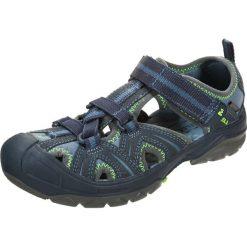 Merrell HYDRO HIKER Sandały trekkingowe navy/green. Niebieskie buty trekkingowe chłopięce marki CMP, z materiału. Za 439,00 zł.