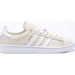 Adidas Originals - Buty Campus. Brązowe buty sportowe damskie marki adidas Originals, z bawełny. W wyprzedaży za 299,90 zł.