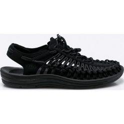 Keen - Sandały Uneek. Czarne sandały męskie Keen, z gumy. W wyprzedaży za 279,90 zł.