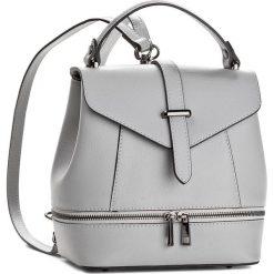 Plecak CREOLE - K10329  Jasny Szary. Szare plecaki damskie Creole, ze skóry, eleganckie. W wyprzedaży za 189,00 zł.