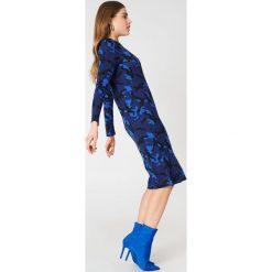Sukienki: Baum und Pferdgarten Sukienka Janny – Blue,Multicolor