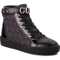 Sneakersy GUESS - FLGRC3 FAL12  BLKBL. Czarne sneakersy damskie marki Guess, z materiału. Za 669,00 zł.