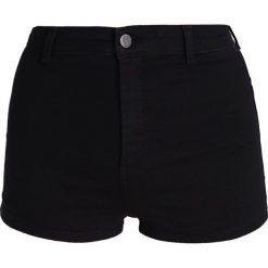 Bermudy damskie: Topshop JONI Szorty jeansowe washedblack