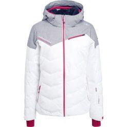CMP WOMAN ZIP HOOD Kurtka narciarska bianco. Czerwone kurtki damskie narciarskie marki CMP, z materiału. W wyprzedaży za 679,20 zł.