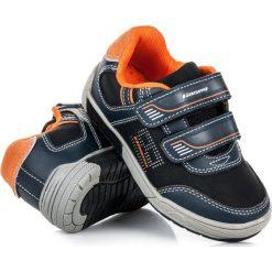 Buty sportowe na rzepy RAVEN. Czarne buciki niemowlęce HASBY, na rzepy. Za 89,90 zł.