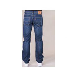 Jeansy straight leg Levis  501® LEVI'S® ORIGINAL FIT. Brązowe jeansy męskie relaxed fit marki Levi's®, l, z materiału. Za 383,20 zł.