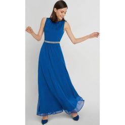 Długie sukienki: Wieczorowa sukienka maxi