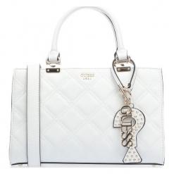 Guess Biała Torebka Damska. Białe torebki klasyczne damskie Guess, z aplikacjami. Za 599,00 zł.