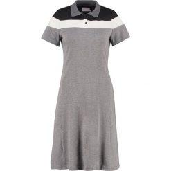 Sukienki hiszpanki: Kaffe NATALIE  Sukienka z dżerseju grey melange