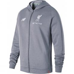 Bluza Liverpool LFC - MT831221CTR. Szare bluzy męskie rozpinane New Balance, m, z bawełny, z kapturem. Za 399,99 zł.