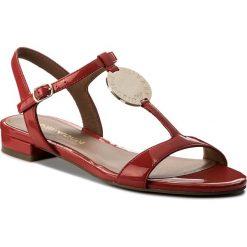 Rzymianki damskie: Sandały EMPORIO ARMANI – X3P640 XD138 00029 Rosso