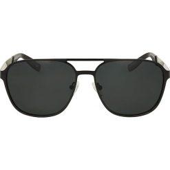 Okulary przeciwsłoneczne męskie aviatory: Czarne okulary przeciwsłoneczne