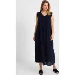 Długie sukienki: Persona by Marina Rinaldi DEDICATO DRESS WITH PINTUCK DETAIL Długa sukienka blue marino