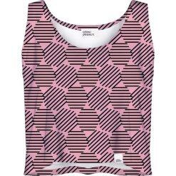 Colour Pleasure Koszulka damska CP-035 30 różowa r. XS-S. Czerwone bluzki damskie Colour pleasure, s. Za 64,14 zł.