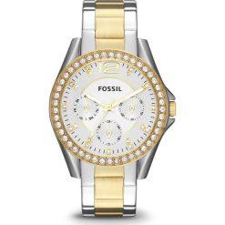 Zegarki damskie: Zegarek FOSSIL – Riley ES3204  2T Silver/Gold