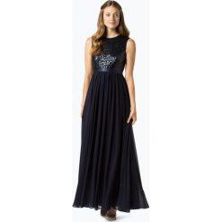 Marie Lund - Damska sukienka wieczorowa, niebieski. Niebieskie sukienki balowe Marie Lund, z satyny. Za 699,95 zł.