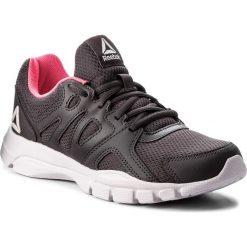 Buty Reebok - Trainfusion Nine 3.0 CN0975 Smoky Volcano/Quartz/Pink. Szare buty do fitnessu damskie marki Reebok, z materiału. W wyprzedaży za 159,00 zł.