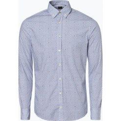 BOSS Casual - Koszula męska – Mabsoot, niebieski. Niebieskie koszule męskie na spinki BOSS Casual, m, z kontrastowym kołnierzykiem. Za 349,95 zł.