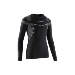 Podkoszulek Keepdry 500. Czarne odzież termoaktywna męska KIPSTA, ze skóry. Za 39,99 zł.