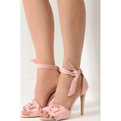 Różowe Sandały Summer Trip. Czerwone sandały damskie marki vices, na wysokim obcasie. Za 69,99 zł.