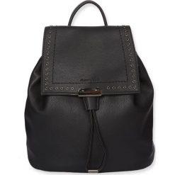 """Plecaki damskie: Plecak """"Milan"""" w kolorze czarnym – 31 x 26 x 14 cm"""