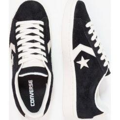 Converse PRO LEATHER 76 OX Tenisówki i Trampki black/egret. Szare tenisówki damskie marki Converse, z gumy. W wyprzedaży za 233,35 zł.