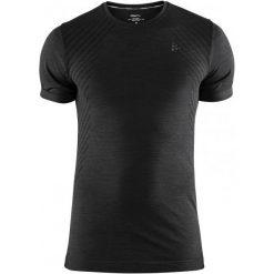 Craft Koszulka Sportowa Męska Fuseknit Comfort Ss Black Xxl. Czarne koszulki turystyczne męskie Craft, m, w paski. Za 119,00 zł.