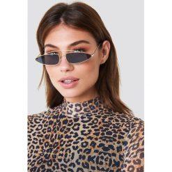 NA-KD Accessories Okulary przeciwsłoneczne z mostkiem - Black. Szare okulary przeciwsłoneczne damskie lenonki marki ORAO. Za 52,95 zł.
