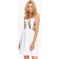Sukienki: SUKIENKA DAMSKA Z HAFTEM