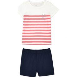 Bielizna dziewczęca: Wzorzysta piżama ze spodenkami, krótki rękaw 3 – 12 lat