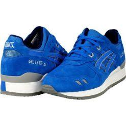 Buty sportowe męskie: Asics Buty męskie Gel Lyte III niebieskie r. 41 (H5U3L-4242)