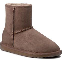 Buty EMU AUSTRALIA - Stinger Mini W10003 Mushroom. Szare buty zimowe damskie marki EMU Australia, z gumy. Za 639,00 zł.