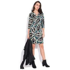 Fille Du Couturier Sukienka Damska Lesly 36 Zielony. Zielone sukienki z falbanami Fille Du Couturier. Za 229,00 zł.