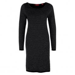 S.Oliver Sukienka 36 Czarna. Czarne sukienki balowe S.Oliver, s, midi. W wyprzedaży za 169,00 zł.