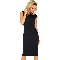Sukienka z podwyższonym stanem sf-144-3. Czarne sukienki balowe marki SaF, xl, ołówkowe. Za 139,90 zł.
