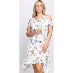 Sukienki: Biała Sukienka Unmoved