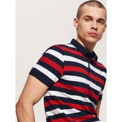 Koszulki polo: Koszulka polo w paski – Wielobarwn