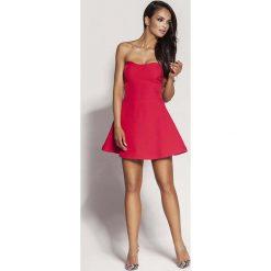 Malinowa Mini Sukienka z Odkrytymi Ramionami. Niebieskie sukienki mini marki Reserved, z odkrytymi ramionami. Za 238,90 zł.
