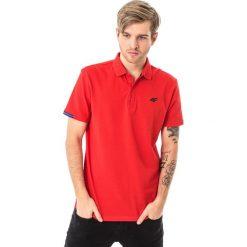 Koszulki polo: 4f Koszulka polo męska H4L18-TSM024 czerwona r. L