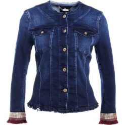 Bomberki damskie: 7 for all mankind Kurtka jeansowa blue denim