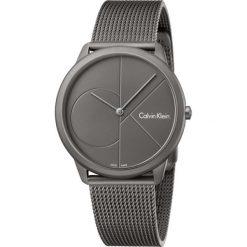 ZEGAREK CALVIN KLEIN MINIMAL K3M517P4. Szare zegarki męskie Calvin Klein, szklane. Za 1169,00 zł.