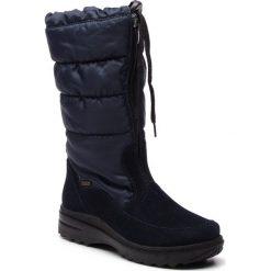 Śniegowce ROMIKA - Ischgl 02 58302 60 530 Ocean. Niebieskie buty zimowe damskie Romika, z materiału. Za 439,00 zł.