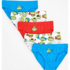 Odzież dziecięca: Majtki 5 pack wojownicze żółwie ninja - Turkusowy