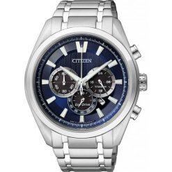 ZEGAREK CITIZEN Titanium CA4010-58L. Niebieskie zegarki męskie CITIZEN, ze stali. Za 1390,00 zł.