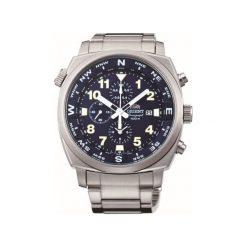 Zegarki męskie: Zegarek męski Orient Chronograph FTT17002D0