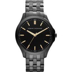 Armani Exchange - Zegarek AX2144. Czarne zegarki męskie marki Armani Exchange, l, z materiału, z kapturem. Za 899,90 zł.