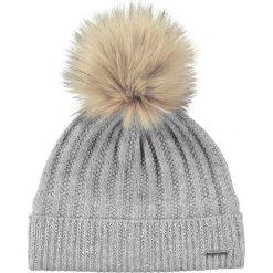 Barts - Czapka Marigold Beanie heather grey. Brązowe czapki zimowe damskie marki Barts, z dzianiny. W wyprzedaży za 129,90 zł.