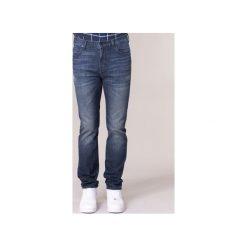 Jeansy slim fit Lee  RIDER. Niebieskie jeansy męskie relaxed fit marki Adidas, m. Za 383,20 zł.