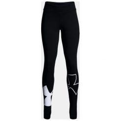 Under Armour Spodnie damskie Finale Knit Legging czarne r. M (1311007-001). Szare spodnie sportowe damskie marki Under Armour, l, z dzianiny, z kapturem. Za 89,90 zł.