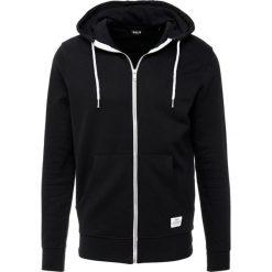 Bejsbolówki męskie: Solid MORGAN ZIP Bluza rozpinana black